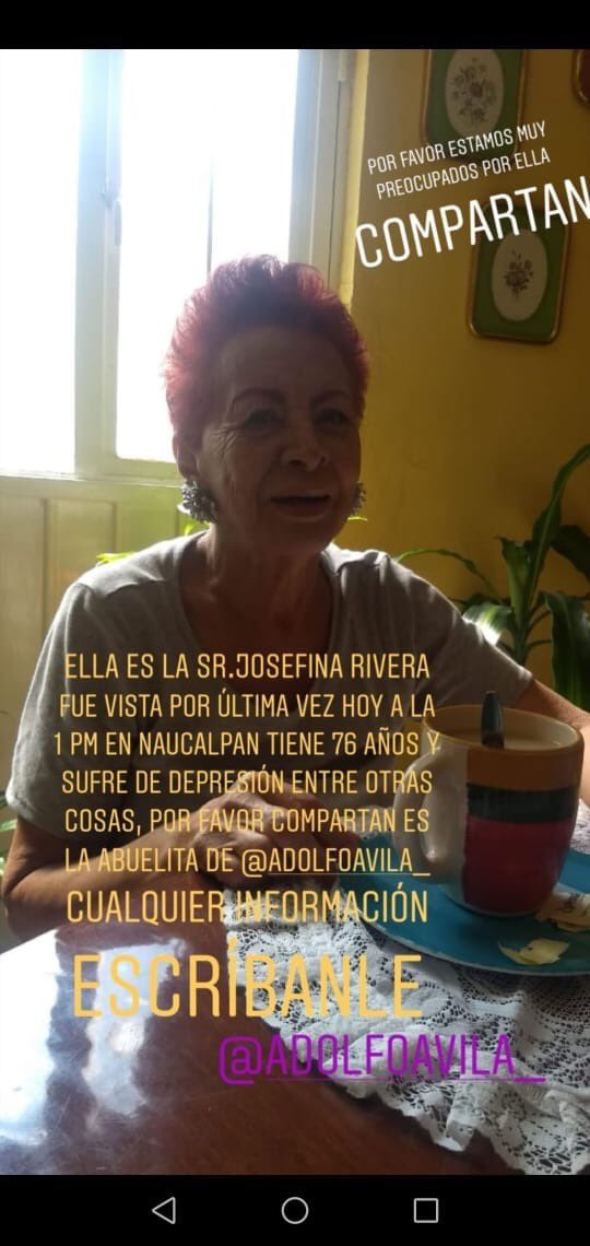 @SoyNaucalpan @gobnau @NaucalpanCiudad @SCNaucalpan @AlertaPlateada @locatel_mx