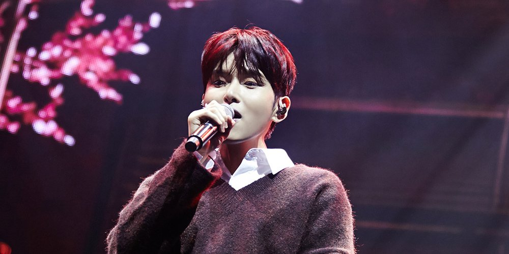 Super junior's ryeowook tops itunes album charts in 14 countries