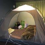 部屋の中にテント!?保温・保湿の効果が絶大らしい!