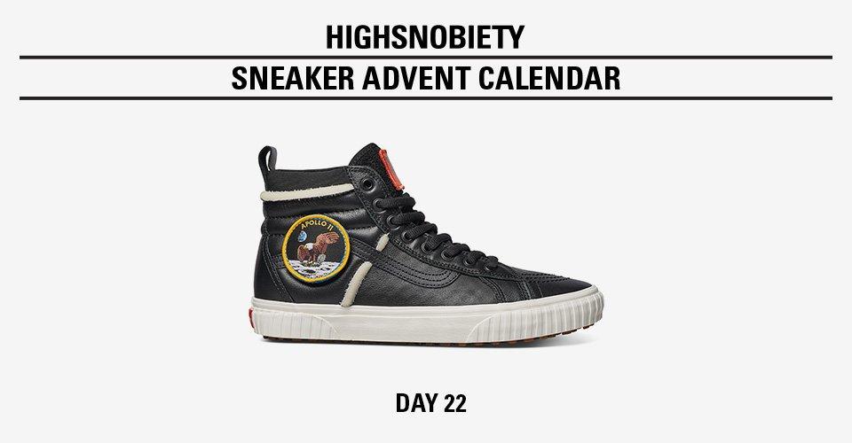 16ac4f0d0a win the black nasa x vans sk8 hi in todays highsnobiety advent calendar