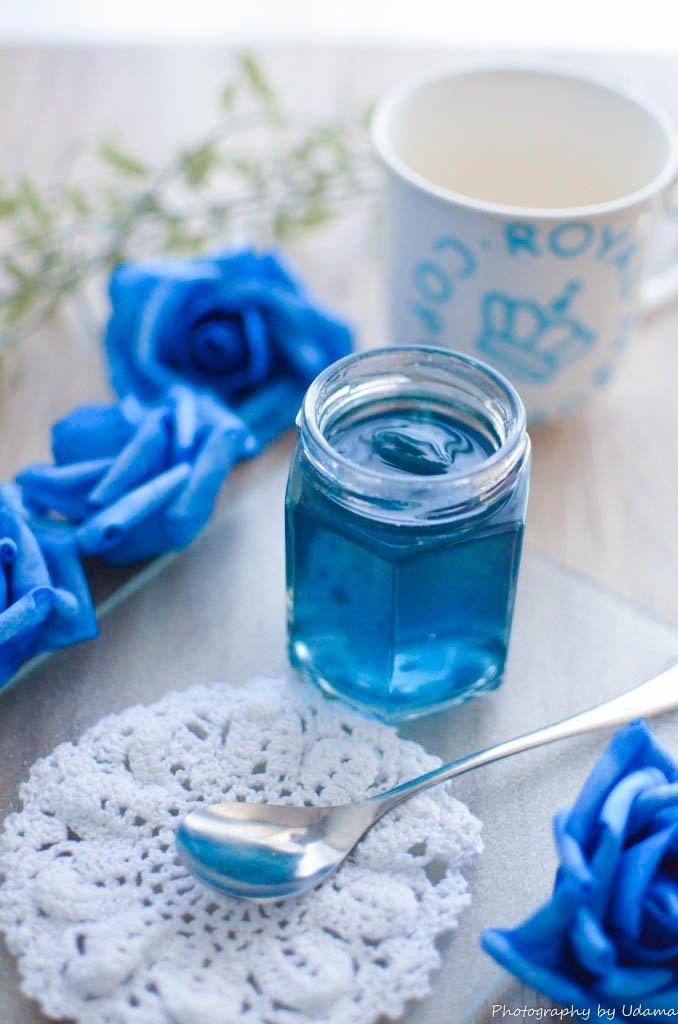 りんご味の青いジャム | うだま飯 meshi.udama.jp/blue-jam/