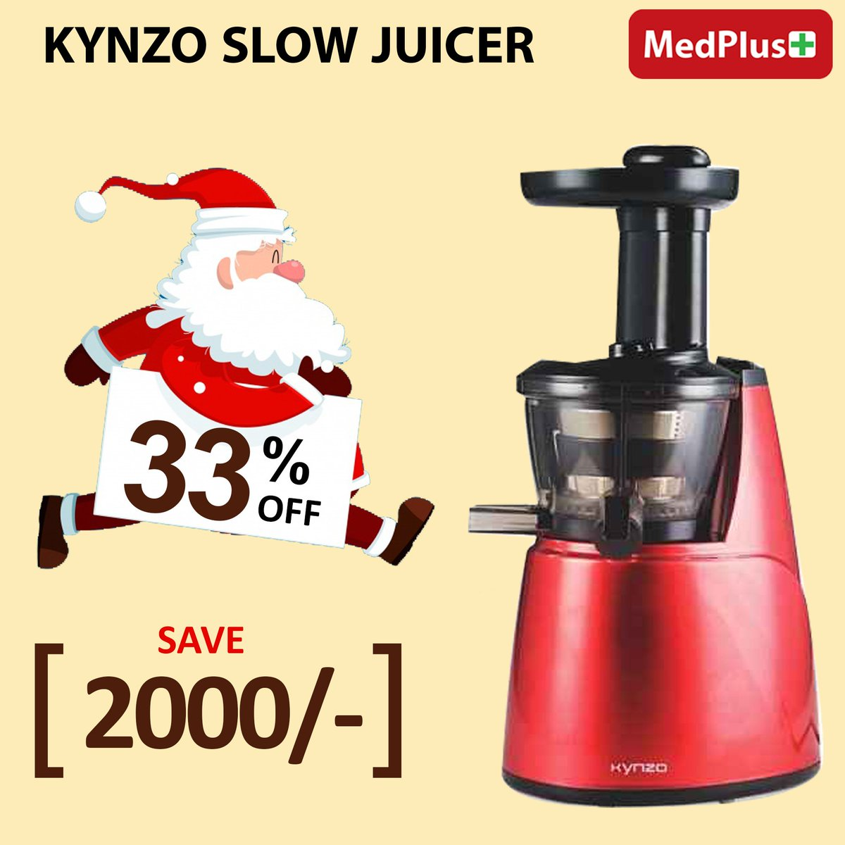Meet the kynzo slow juicer