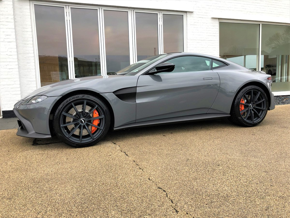 Hwm Astonmartin On Twitter Incoming Our New Showroom Vantage China Grey With Special Order Q Orange Calipers And A Quad Sports Exhaust Cool Car Saturdaymotivation Saturdaymorning Astonmartin Vantage Hwm Https T Co 5pzv7ihigz