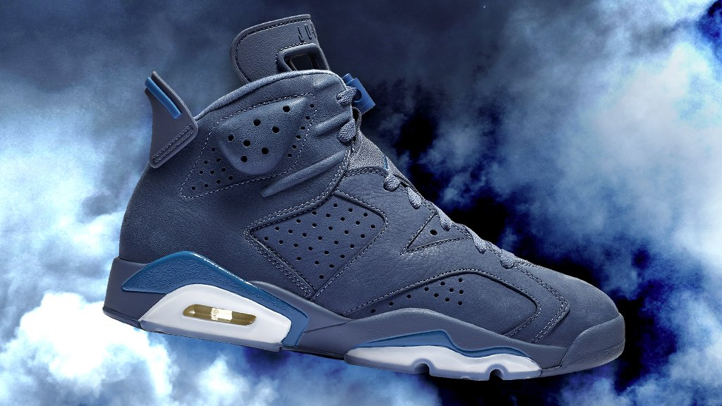 official photos 0ffb3 ea8ac cop the last jordan of 2018 the jordan retro 6 diffused blue is available  now gt