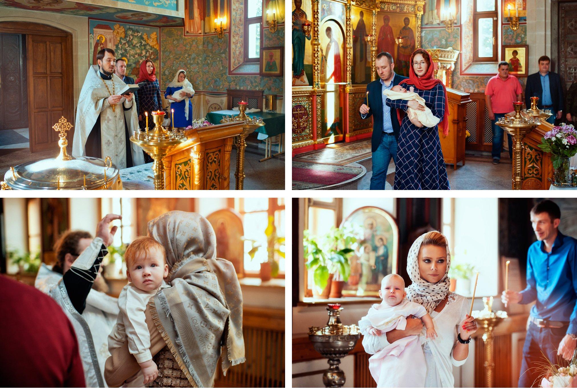 Фотосъемка крестин переделкино