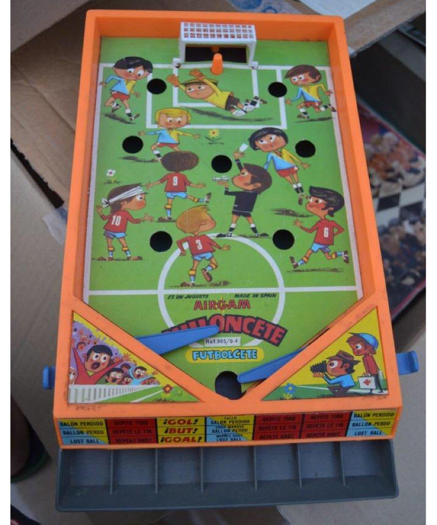 Un Milloncete de fútbol de Airgam 😃 #80s #90s #retro #juguete #Milloncete #Airgam #futbol #Futbolcete #recuerdo #infancia #retrokmiz