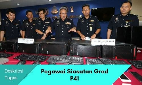 Spa8i Jawatan Kosong Kerajaan On Twitter Deskripsi Tugas Pegawai Siasatan Gred P41 Https T Co 5mhy4wqbtt