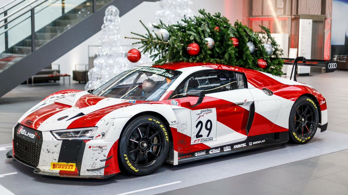 Audi Sport On Twitter Talk About A Fast Christmas Tree
