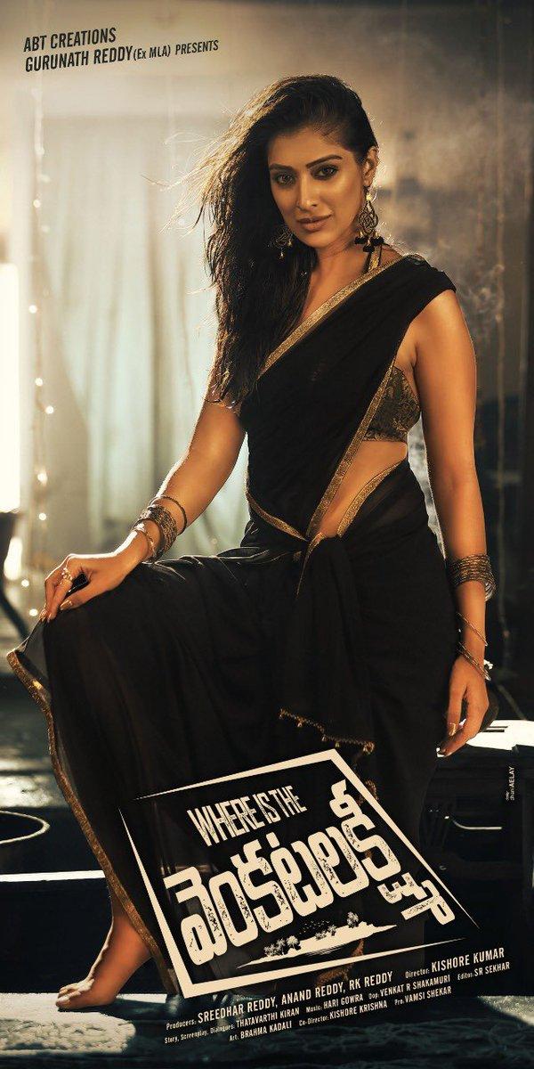 New poster of #WhereIsTheVenkatLakshmi #comingsoon for all telugu fans #comedyflick pic.twitter.com/kL7iqCSBnm