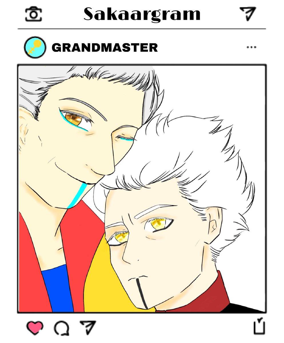 RT @seiryo_119: selfie〜   #thegrandmaster #thecollecter https://t.co/hkKGx4ETRF