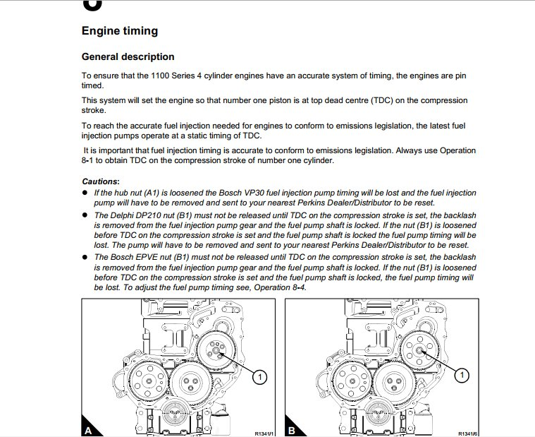 Perkins Operation and Maintenance Manuals 8313 Perkins Engines. We are experts on your engine. Following fuels can be used provide cost effective solutions ...