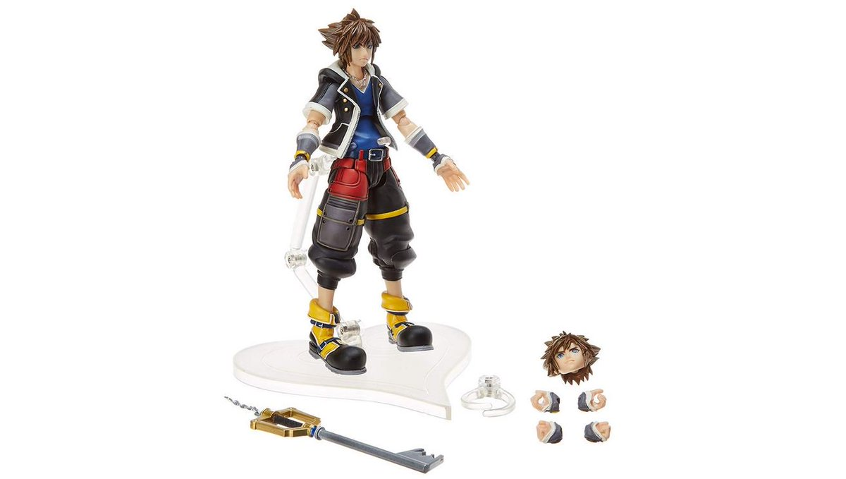 Sora 2nd Form Bring Arts Action Figure Square Enix Kingdom Hearts 3