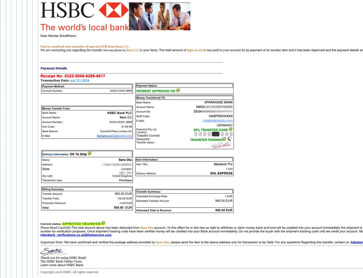 Hsbc Uk On Twitter Hi Nikolas I Can Confirm That This Email Is