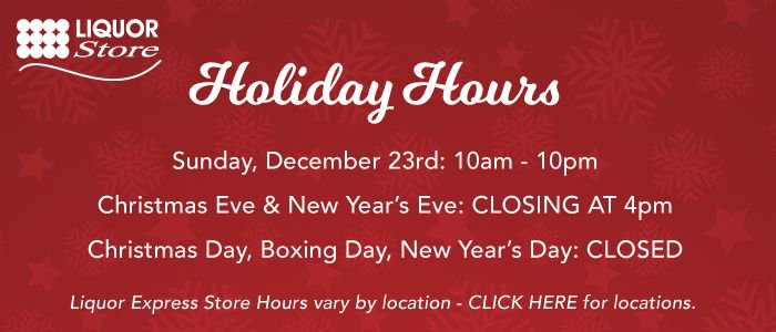 Christmas Liquor.Nlc Liquor Store On Twitter Nlc Liquor Store Holiday Hours