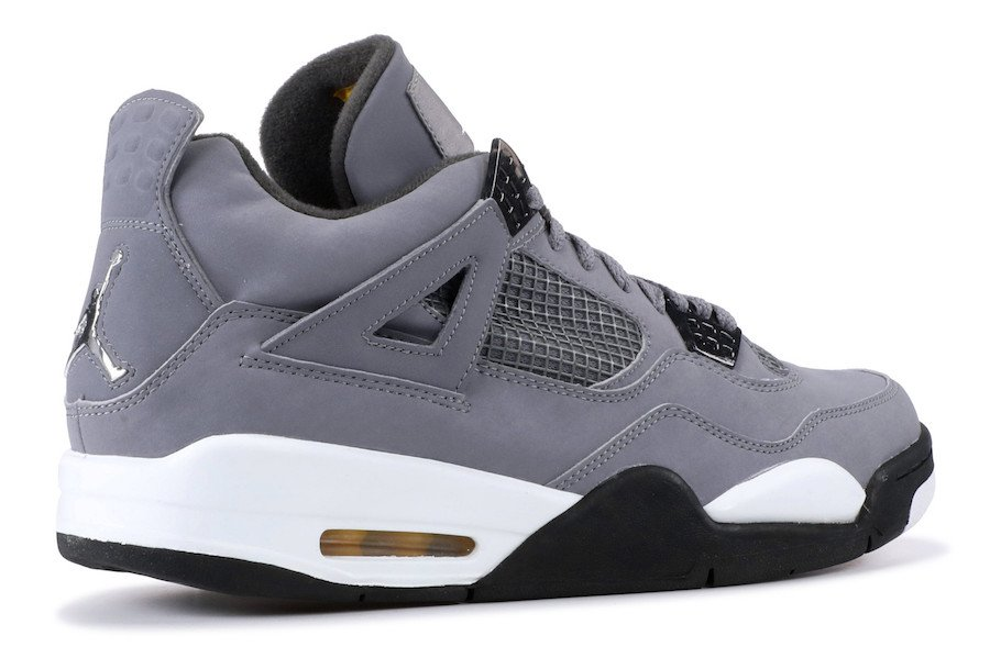 7cc75f1733c3 Air Jordan 4 Color  Cool Grey Chrome-Dark Charcoal-Varsity Maize Style  Code  308497-007 Release Date  August 3