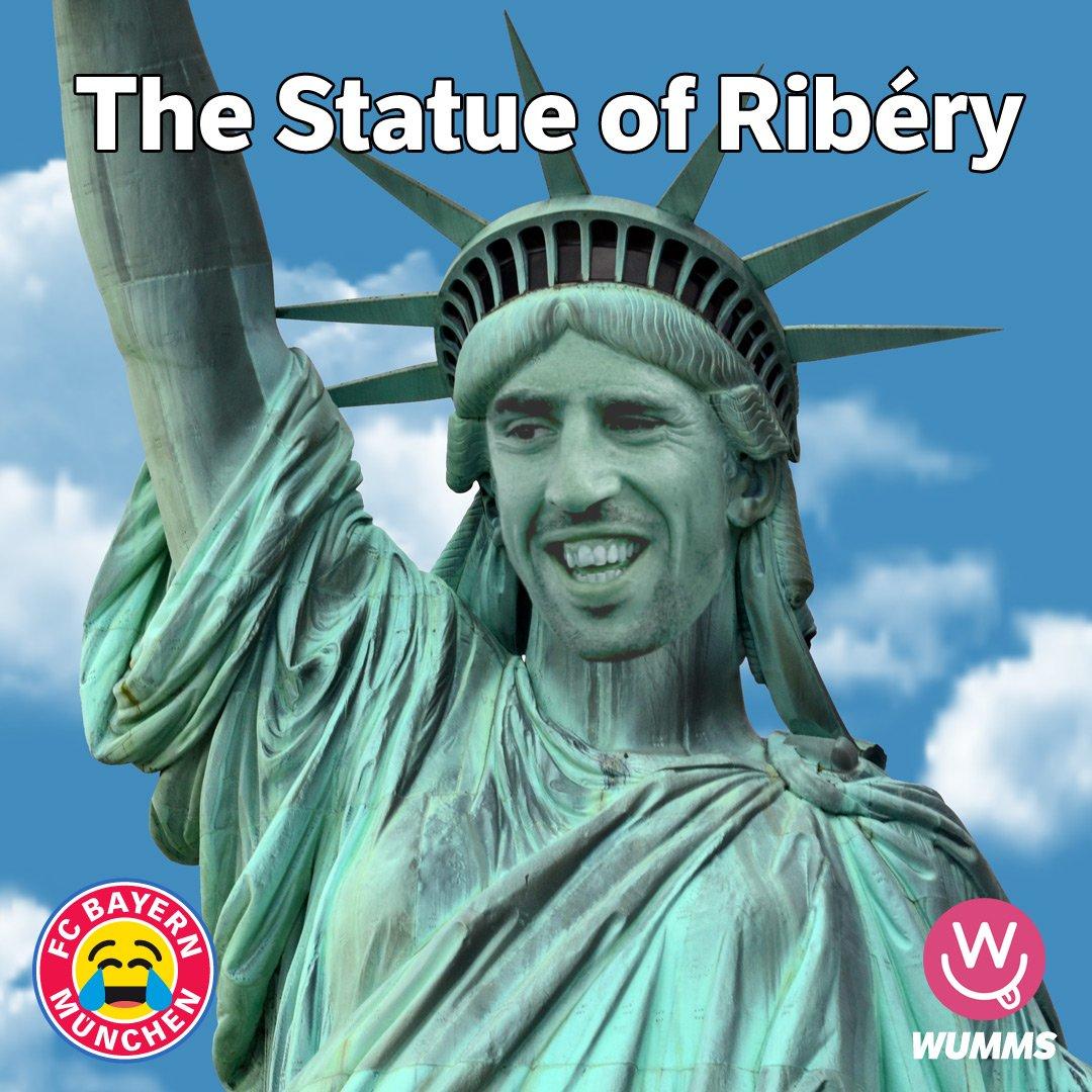 Auf den können sich die Bayern zurzeit verlassen. Sie sollten ihm in München ein Denkmal bauen.  #SGEFCB #ribery @FranckRibery