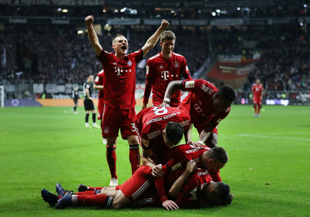 Video: Eintracht Frankfurt vs Bayern Munich