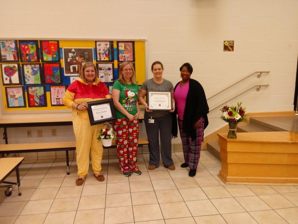 Congratulations Mrs. Kreutzer WOES Teacher of the Year! @WOESVB @vbschools
