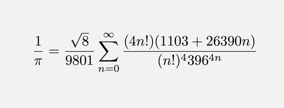 """Brian Greene on Twitter: """"""""An equation has no meaning for me unless it  expresses a thought of god."""" --Srinivasa Ramanujan, born OTD 1887.… """""""