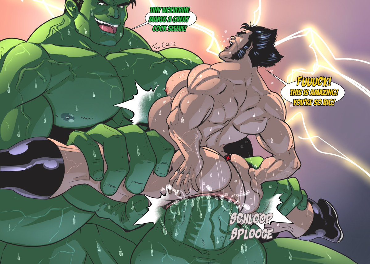 Gay Monster Cock Hulk