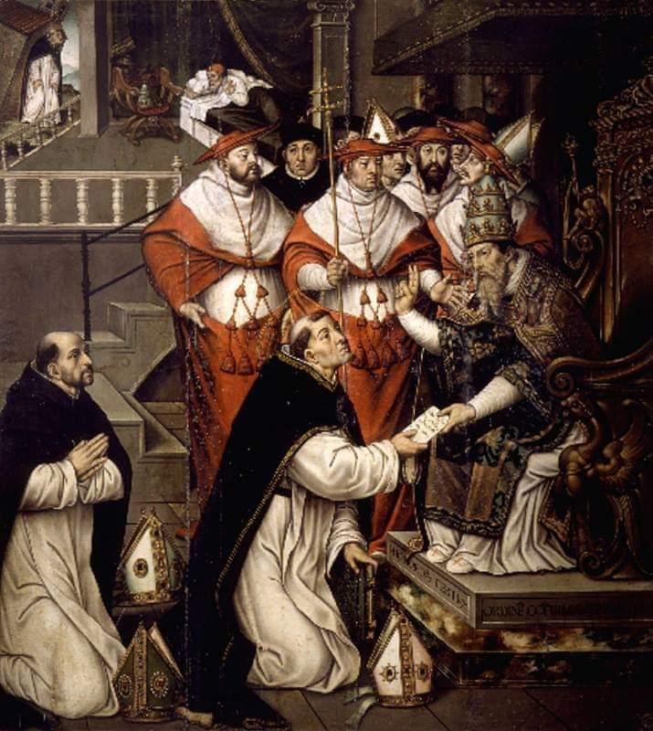 Resultado de imagen de frailes dominicos como inquisidores