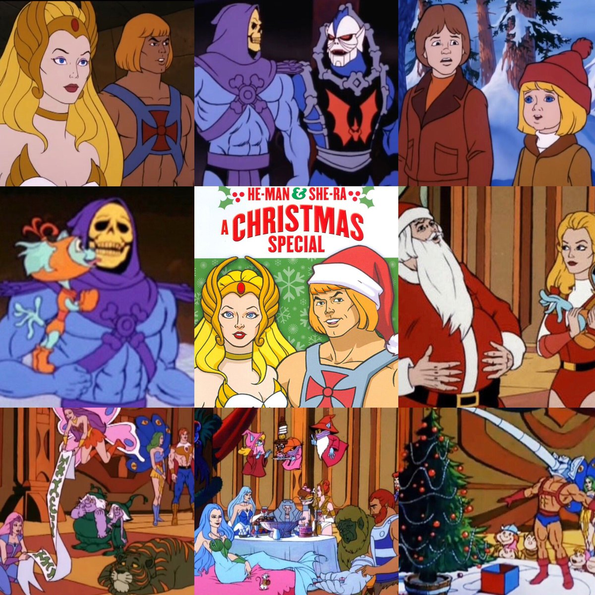He Man She Ra Christmas Special.80sthen80snow On Twitter Christmas Special Of The Day He
