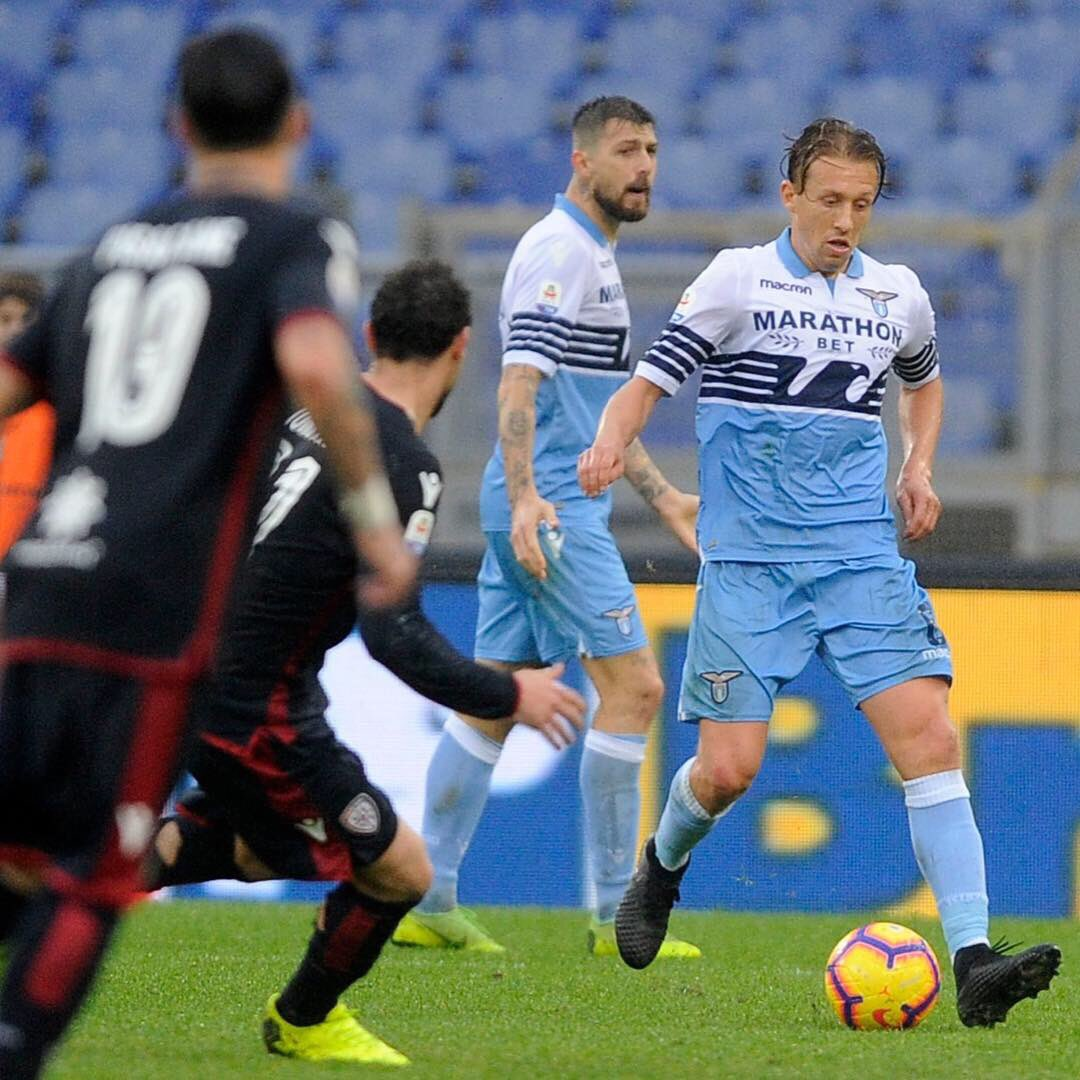 Happy to be back on the pitch. Great 3 points! Forza Lazio