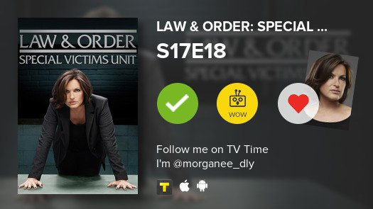 law and order svu s17e18
