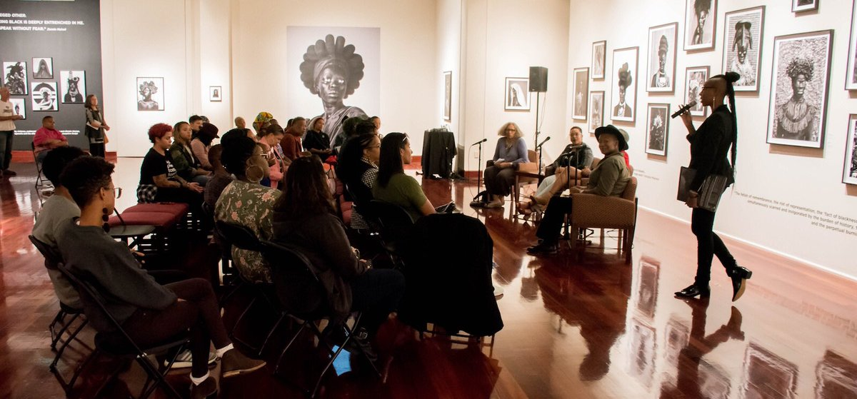 Your gift of $50 will help the Spelman College Museum of Fine Art continue to thrive and create programs like #SpelZanelePRIDE!   Visit https://t.co/gYlnVsDFVG for gifting details. #EveryGiftCounts #SpelMuse #InvestSpelMuse #art #fineart #philanthropy https://t.co/NWy9Hj12R9