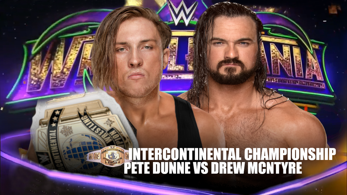 BREAKING: @PeteDunneYxB will take on @DMcIntyreWWE for the #Internationalchampionship at #WMS3