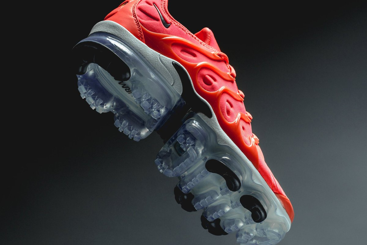 4be99a268238 holiday heat cop the nike air vapormax plus bright crimson black right now  at select retailers