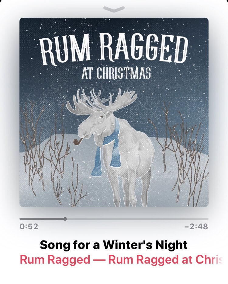 Ya ummm...freakin' rad!! @RumRagged @Manning77 @aaron_collis this song...AMAZING! Merry Christmas and Happy New Year guys! #Christmas2018 #iHeartNL #NLMusic #RumRaggedAtChristmas #SongForAWintersNight