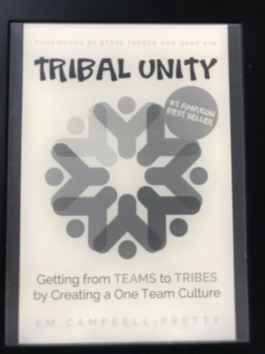 tribal unity getting from teams to tribes by creating a one team culture