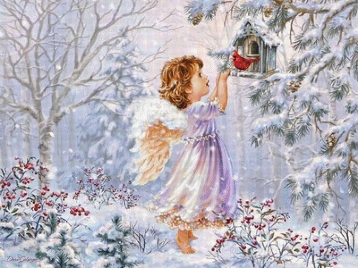 вот день снежных ангелов картинки лены есть