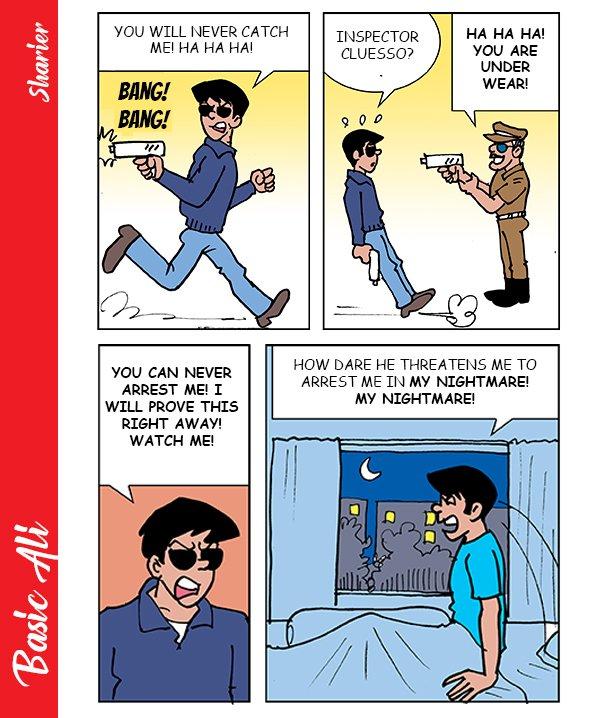 Basic Ali Comics Book