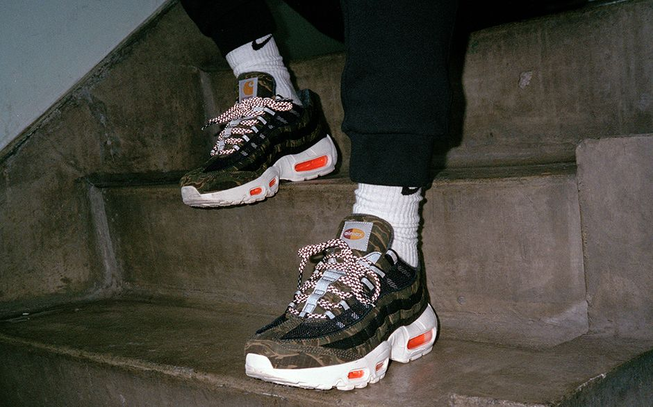 a8b7495e13 ... just got their shipment in of the Carhartt WIP x Nike Air Max 95. Get  yours now while you can: https://bit.ly/2T7my1P pic.twitter.com/DruVxvDt4v