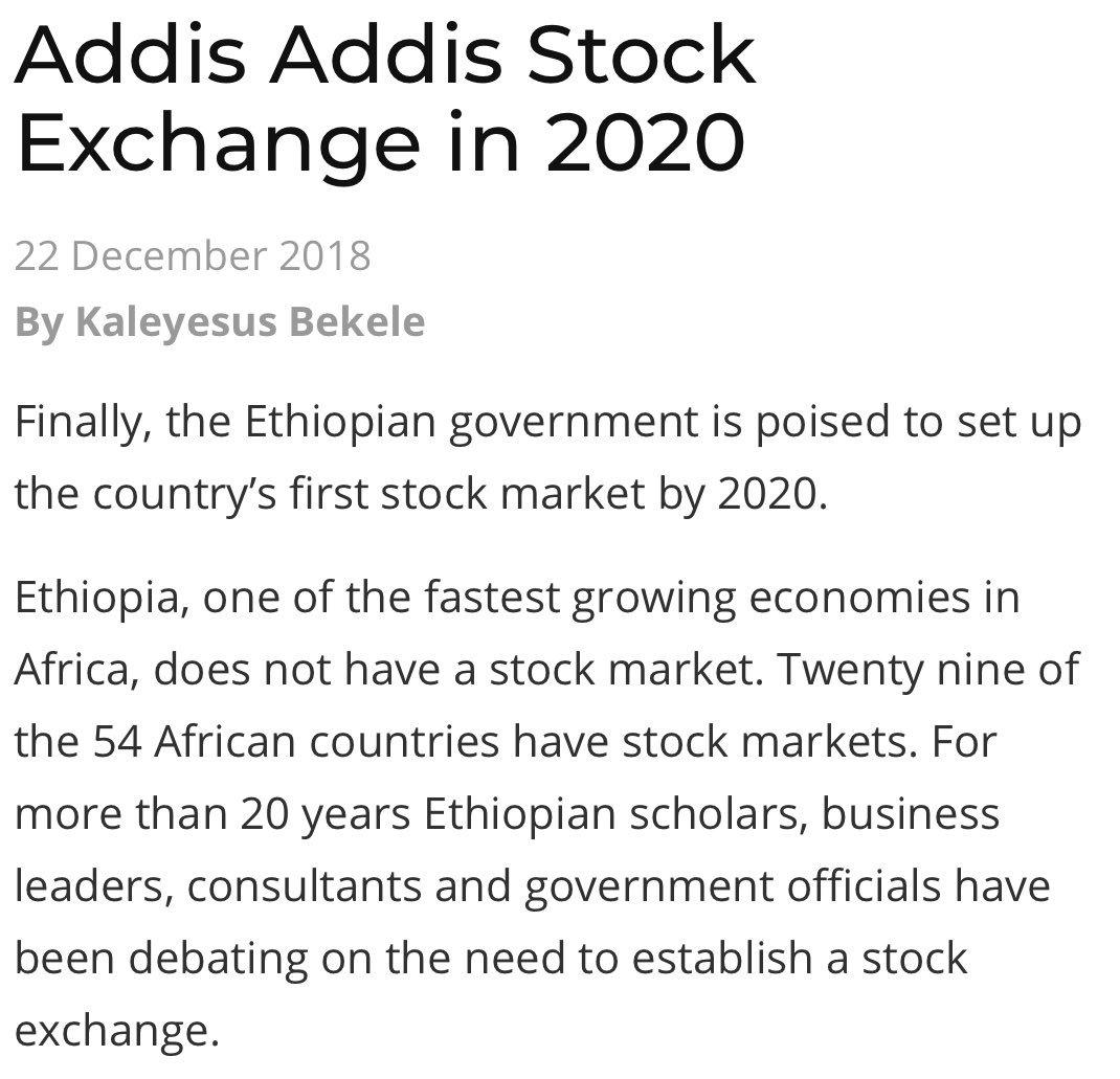 New Companies On The Stock Market 2020 Zemedeneh Negatu on Twitter: