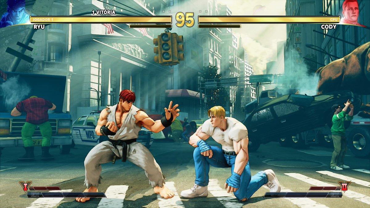 Fechei Street Fighter 1. Duas vezes (uma com Ryu e outra com o Ken) DvFIKkqWoAAPcao