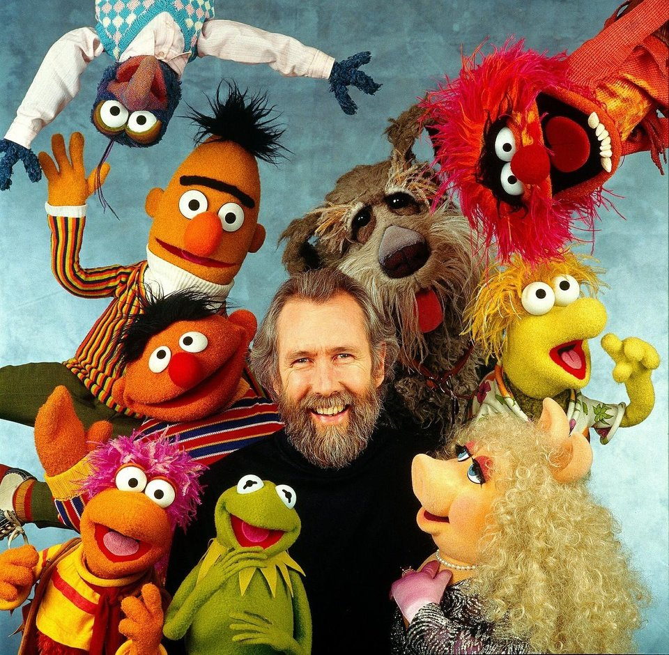 Jim Henson and his Muppets in the 1980s