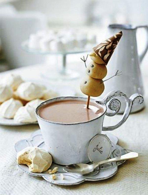 Картинки доброе снежное утро с кофе, поздравления летием