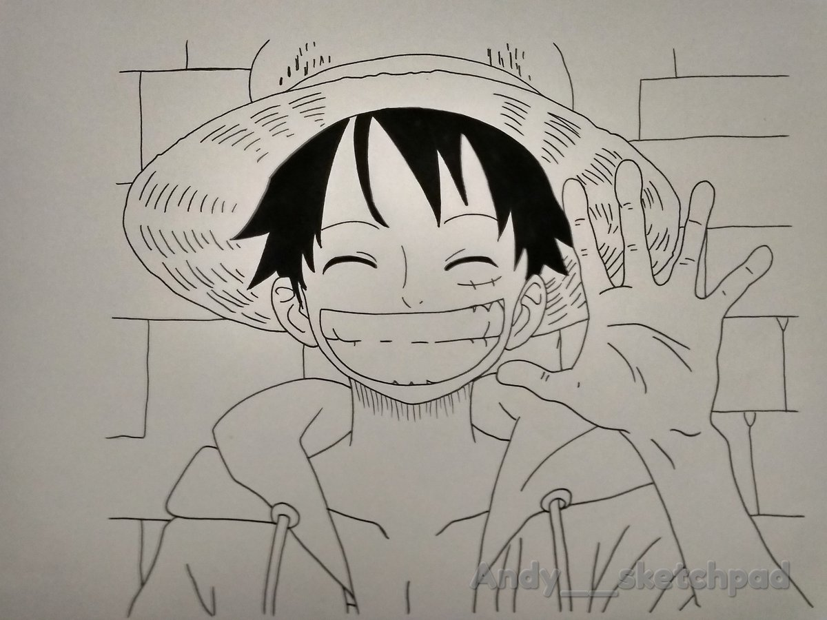 Andy S Sketchpad On Twitter Monkey D Luffy Onepiece