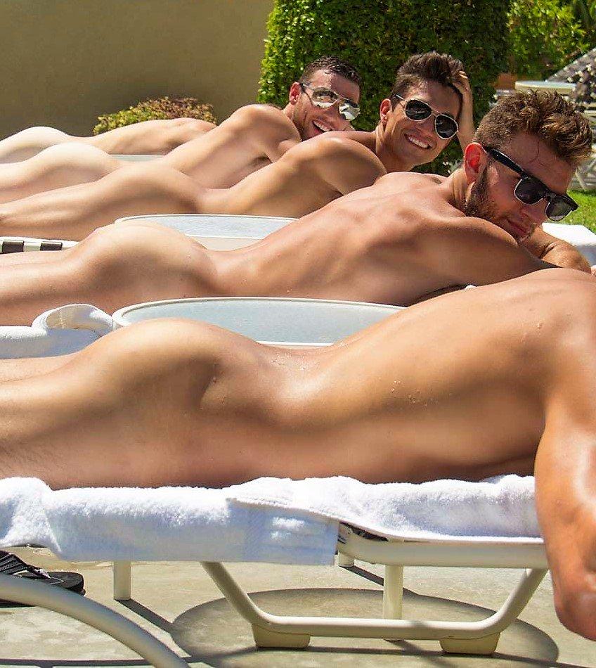 Bake off's john whaite sunbathes naked