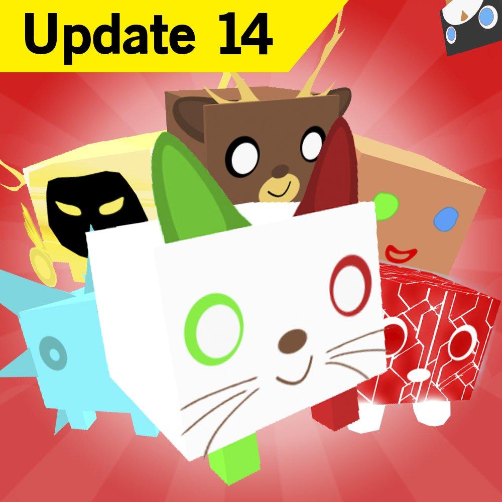 Big Games On Twitter Pet Simulator Update 14 Is Finally Here