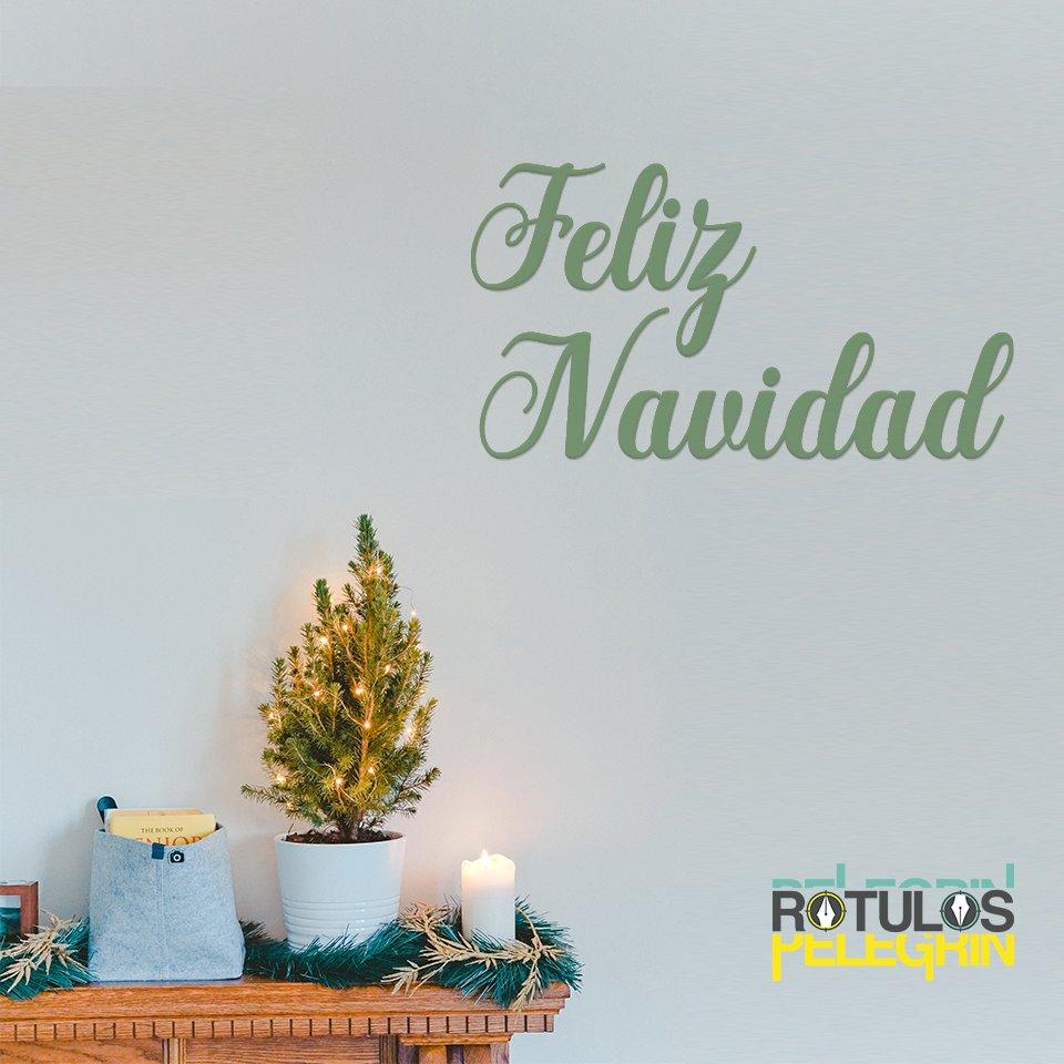 Feliz Navidad Rotulos.Rotulos Pelegrin On Twitter Os Deseamos A Todos Una Feliz