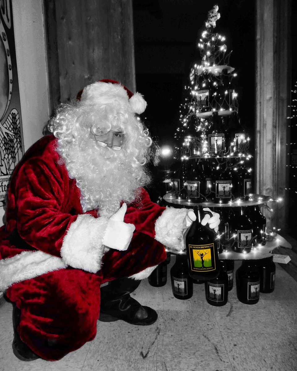 He knows if youve been sleeping. He knows when youre awake. He knows if youve been bad or good — so, its probably a good time to share some Quaff ON! with the man in the red suit. Heres some info on filling those growlers before the holiday: ow.ly/cns130n3bTp