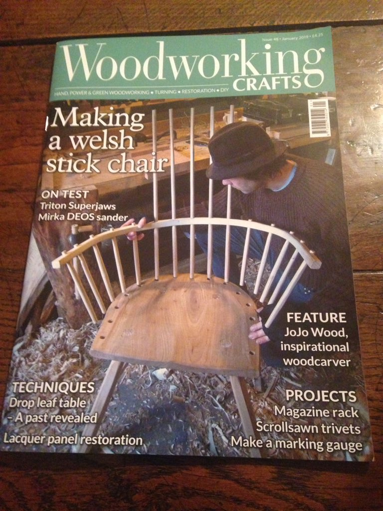 Gareth Irwin On Twitter January Edition Of Woodworking