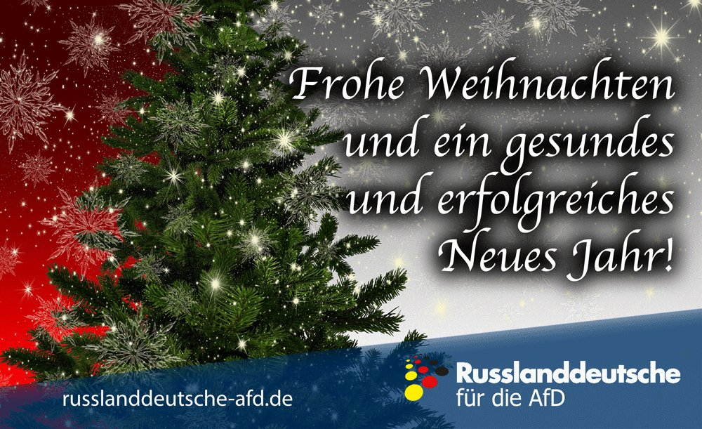 Wir Wünschen Dir Frohe Weihnachten.Russlanddeutsche Afd On Twitter Wir Wünschen Ihnen Frohe
