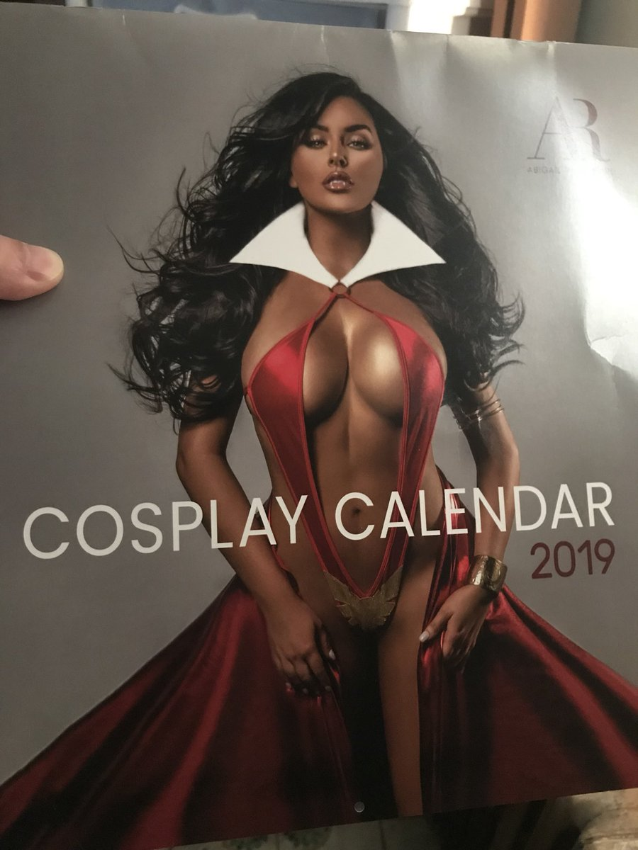 Abigail Ratchford Calendario.Get A Copy Of My 2019 Cosplay Calendar Today Tweet Added By