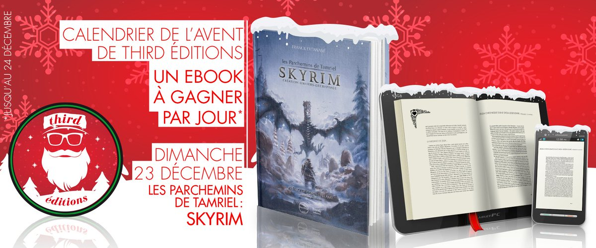 Skyrim Calendrier.Third Editions On Twitter Case 23 Du Calendrier De