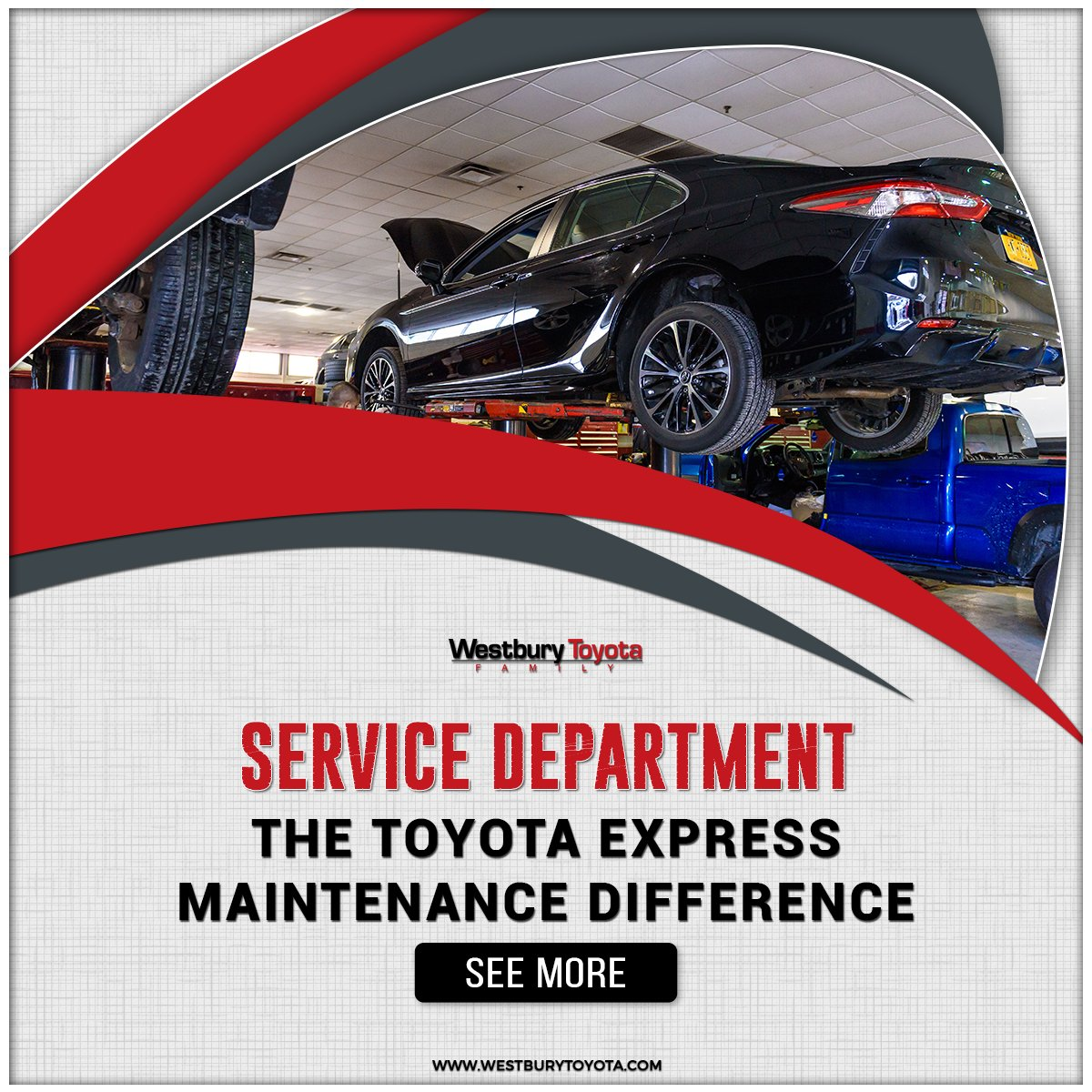 Westbury Toyota On Twitter Schedule Service With In Ny Can Repair Just About Any Make And Model Vehicle The